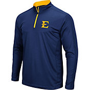 Colosseum Men's East Tennessee State Buccaneers Navy Loggerhead Quarter-Zip Shirt