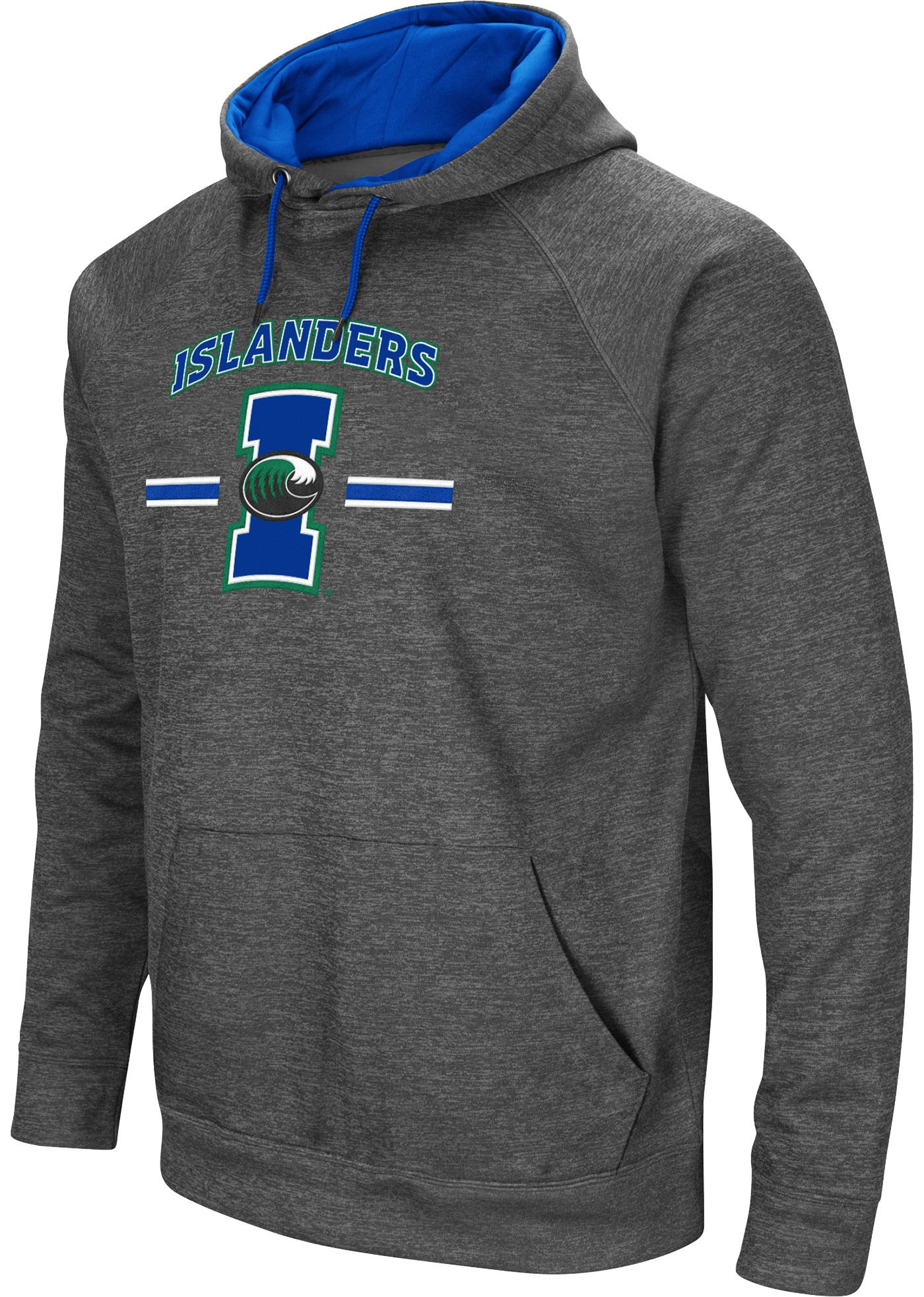Colosseum Men's Texas A&M -Corpus Christi Islanders Grey Pullover Hoodie