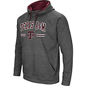 Colosseum Men's Texas A&M Aggies Grey Pullover Hoodie