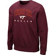 Colosseum Men's Virginia Tech Hokies Maroon Comic Book Crew Sweatshirt