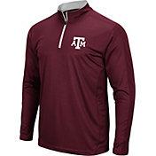 Colosseum Men's Texas A&M Aggies Maroon Loggerhead Quarter-Zip Shirt