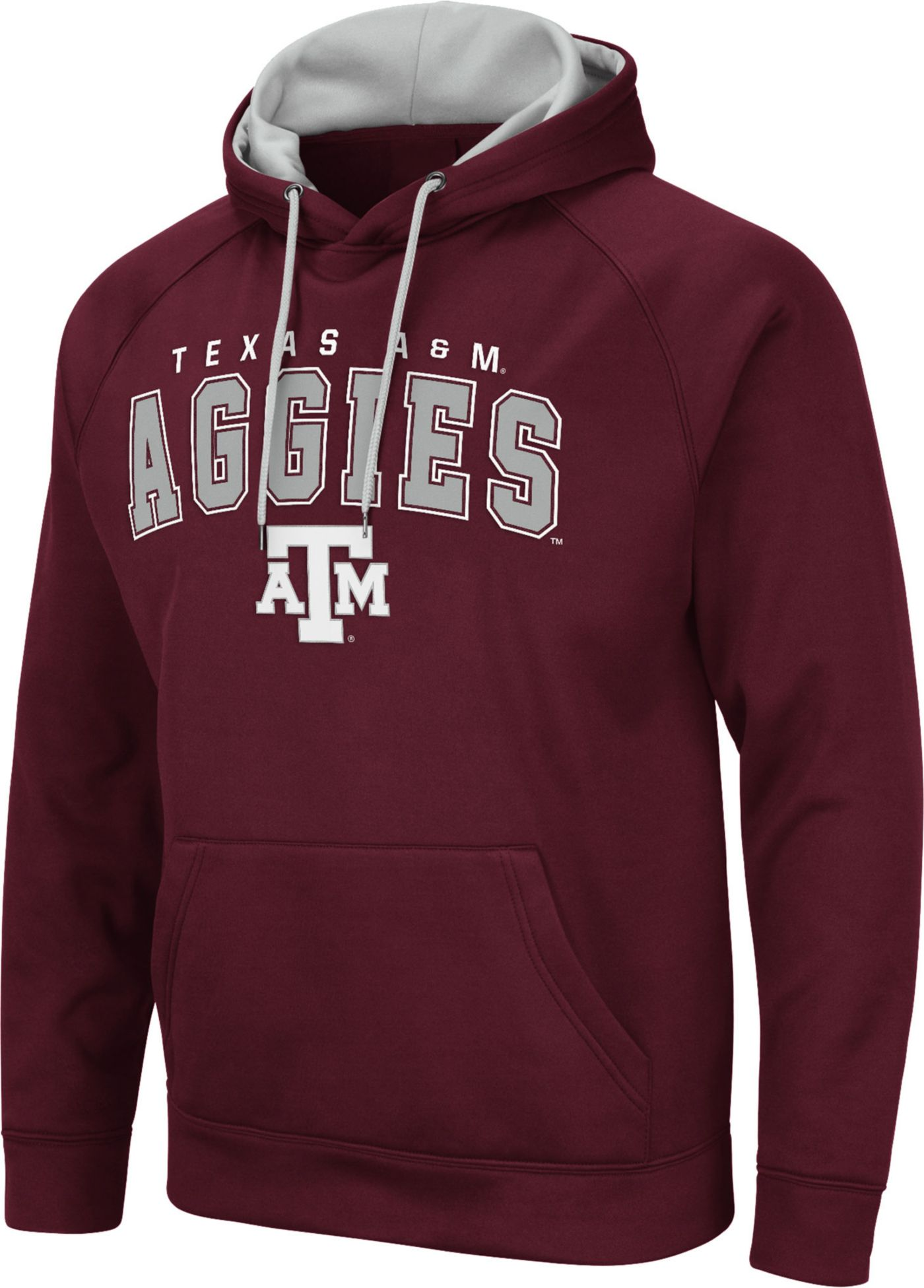 Colosseum Men's Texas A&M Aggies Maroon Pullover Hoodie