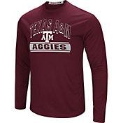 Colosseum Men's Texas A&M Aggies Maroon Ganges Long Sleeve T-Shirt
