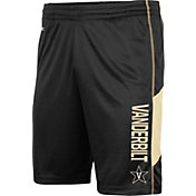 Colosseum Men's Vanderbilt Commodores Grizzly Black Shorts
