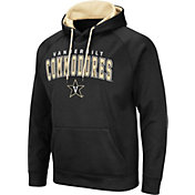 Colosseum Men's Vanderbilt Commodores Pullover Black Hoodie