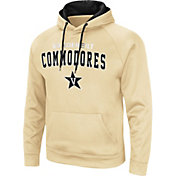 Colosseum Men's Vanderbilt Commodores Gold Pullover Hoodie
