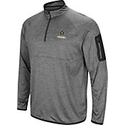 Colosseum Men's Vanderbilt Commodores Grey Indus River Quarter-Zip Shirt