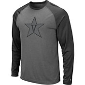 Colosseum Men's Vanderbilt Commodores Grey Rad Tad Raglan Long Sleeve T-Shirt
