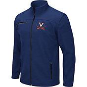 Colosseum Men's Virginia Cavaliers Blue Willie Full-Zip Jacket