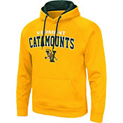Colosseum Men's Vermont Catamounts Gold Pullover Hoodie