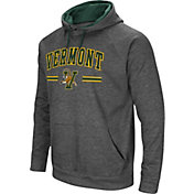 Colosseum Men's Vermont Catamounts Grey Pullover Hoodie