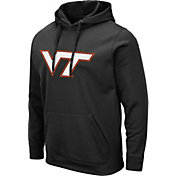 Colosseum Men's Virginia Tech Hokies Pullover Black Hoodie