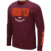 Colosseum Men's Virginia Tech Hokies Maroon Streetcar Long Sleeve T-Shirt