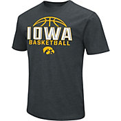 Colosseum Men's Iowa Hawkeyes Dual Blend Basketball Black T-Shirt