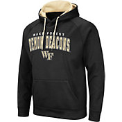 Colosseum Men's Wake Forest Demon Deacons Pullover Black Hoodie