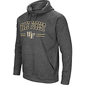 Colosseum Men's Wake Forest Demon Deacons Grey Pullover Hoodie