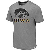 Colosseum Men's Iowa Hawkeyes Grey Campinas T-Shirt