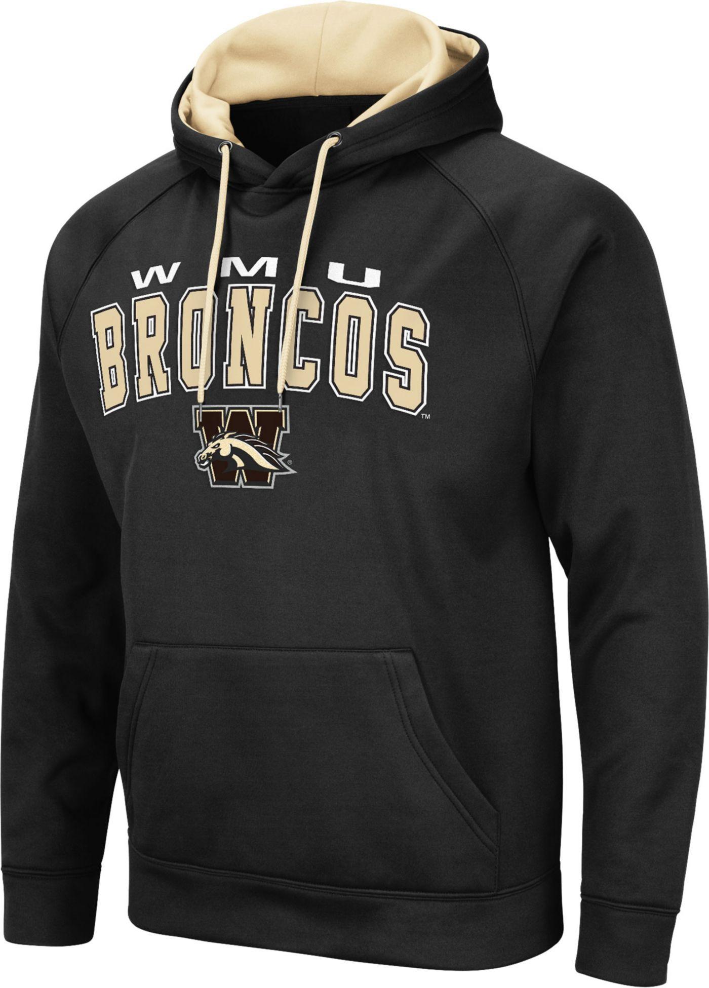 Colosseum Men's Western Michigan Broncos Pullover Black Hoodie