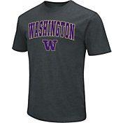 Colosseum Men's Washington Huskies Dual Blend Black T-Shirt
