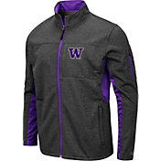 Colosseum Men's Washington Huskies Grey Bumblebee Man Full-Zip Jacket