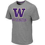Colosseum Men's Washington Huskies Grey Campinas T-Shirt