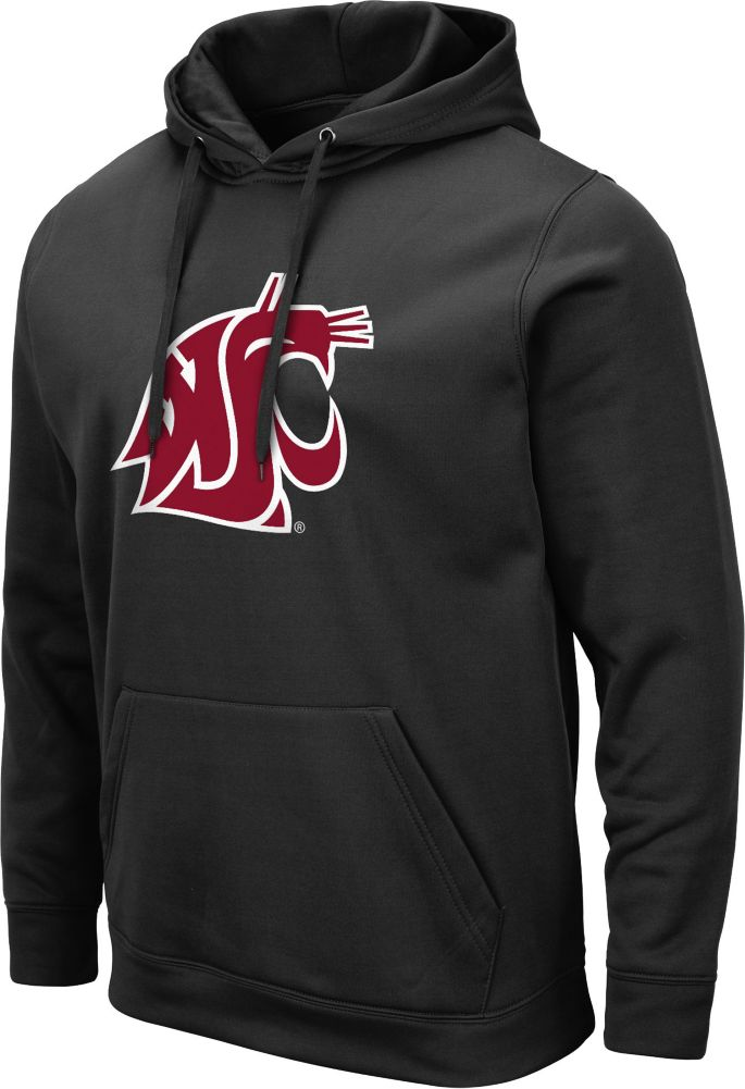professional sale reputable site outlet Colosseum Men's Washington State Cougars Pullover Black Hoodie ...
