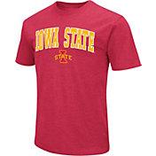 Colosseum Men's Iowa State Cyclones Cardinal  Dual Blend T-Shirt
