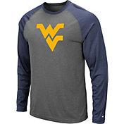 Colosseum Men's West Virginia Mountaineers Grey Rad Tad Raglan Long Sleeve T-Shirt