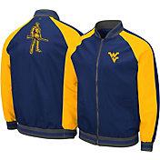 Colosseum Men's West Virginia Mountaineers Blue Kent Bomber Full-Zip Jacket