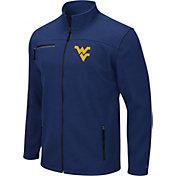 Colosseum Men's West Virginia Mountaineers Blue Willie Full-Zip Jacket