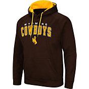 Colosseum Men's Wyoming Cowboys Brown Pullover Hoodie