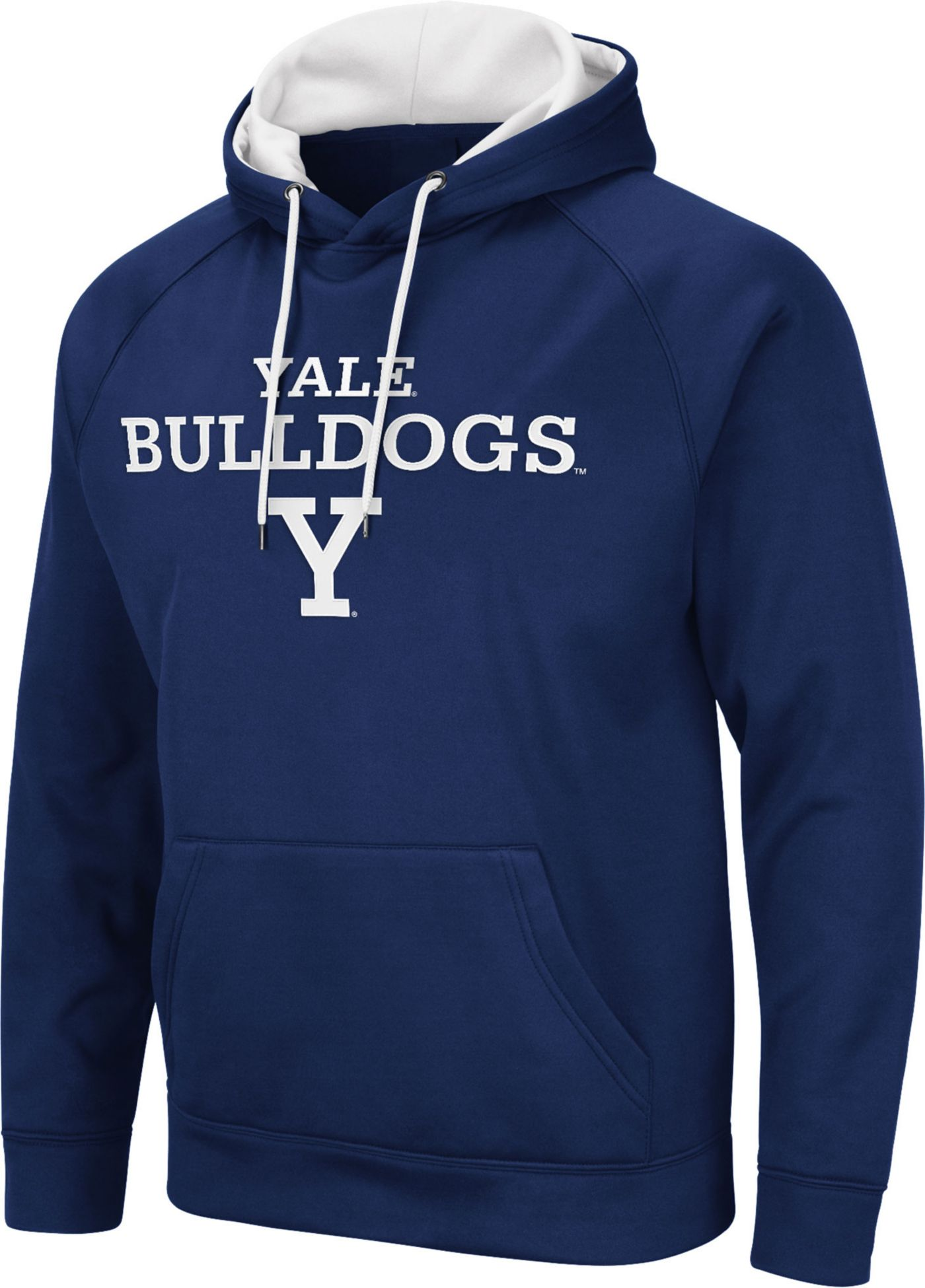 Colosseum Men's Yale Bulldogs Yale Blue Pullover Hoodie