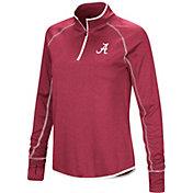 Colosseum Women's Alabama Crimson Tide Crimson Stingray Quarter-Zip Shirt