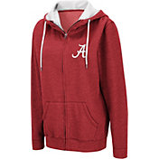 Colosseum Women's Alabama Crimson Tide Crimson Full-Zip Hoodie