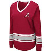 Colosseum Women's Alabama Crimson Tide Crimson Alrighty Long Sleeve T-Shirt