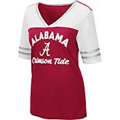 Colosseum Women's Alabama Crimson Tide Crimson/White Samantha T-Shirt
