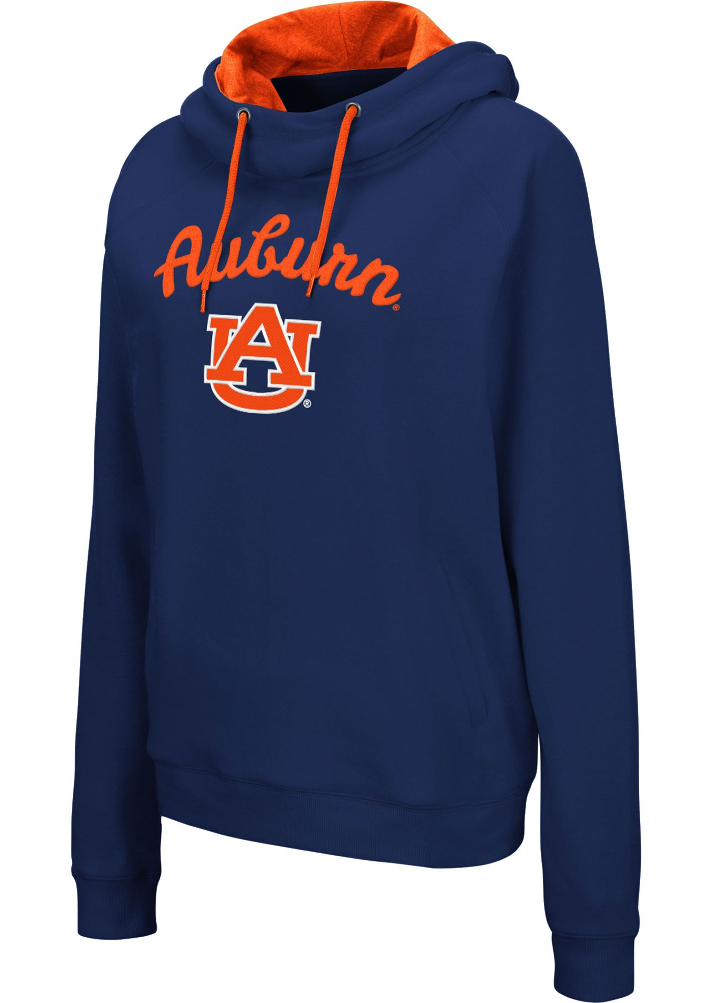 Colosseum Women's Auburn Tigers Blue Louise Pullover Sweatshirt