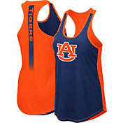 Colosseum Women's Auburn Tigers Blue/Orange Publicist Tank Top
