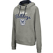 Colosseum Women's Butler Bulldogs Grey Studio Funnel Pullover Hoodie