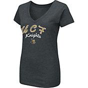 Colosseum Women's UCF Knights Dual Blend V-Neck Black T-Shirt