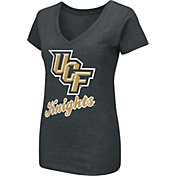 Colosseum Women's UCF Knights Dual Blend V-Neck Black T-Shirt