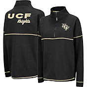 Colosseum Women's UCF Knights Horsetail Half-Zip Black Shirt