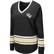 Colosseum Women's UCF Knights Alrighty Long Sleeve Black T-Shirt