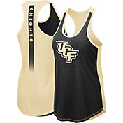 Colosseum Women's UCF Knights Black/Gold Publicist Tank Top