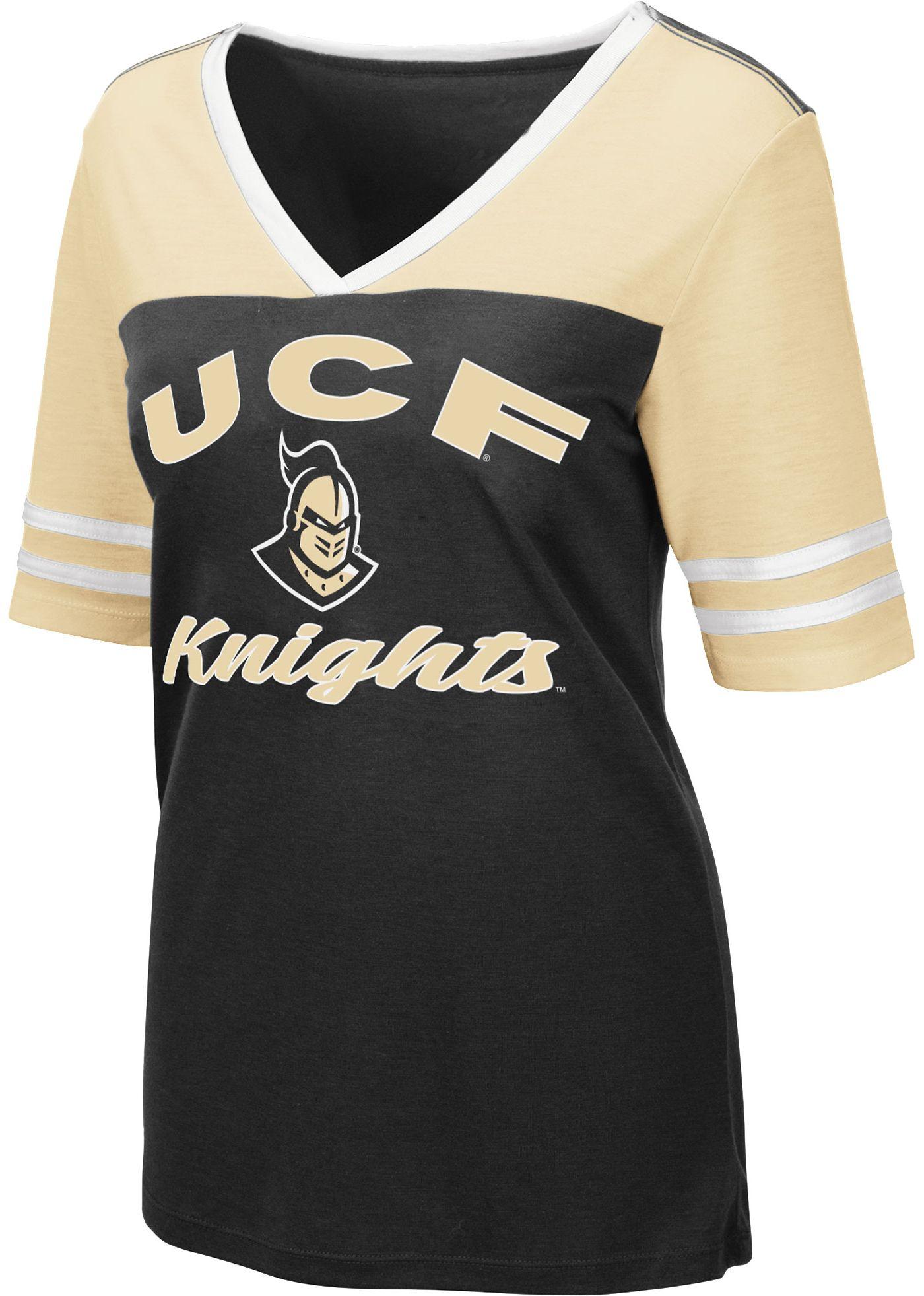 Colosseum Women's UCF Knights Samantha Black T-Shirt