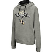 Colosseum Women's UCF Knights Grey Studio Funnel Pullover Hoodie