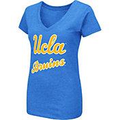 Colosseum Women's UCLA Bruins True Blue Dual Blend V-Neck T-Shirt