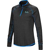 Colosseum Women's UCLA Bruins True Blue Stingray Quarter-Zip Shirt