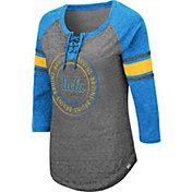 Colosseum Women's UCLA Bruins Grey Carrie Long Sleeve T-Shirt