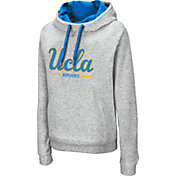 Colosseum Women's UCLA Bruins Grey Lily Funnel Neck Pullover Hoodie